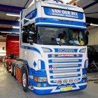 Scania R-series sun visor type 1A