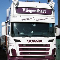 Scania R-series sun visor type 2A