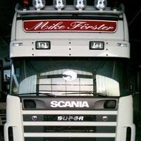 Scania 4-series sun visor type 1B