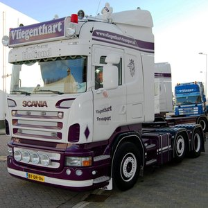 Exclusive accessories Scania Trucks R-series Highline