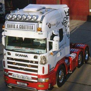 Exclusive accessories Scania Trucks 4-series Topline