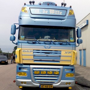 Exclusive accessories DAF Trucks XF 105