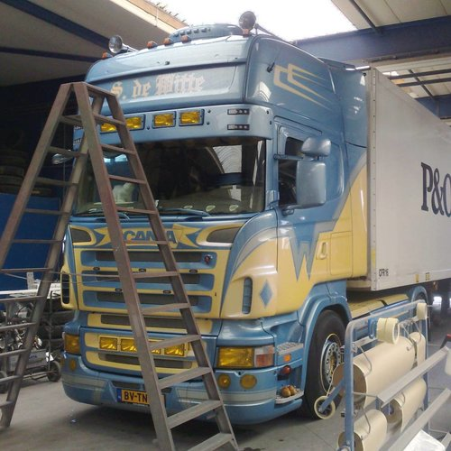 Scania R-series sun visor type 3C