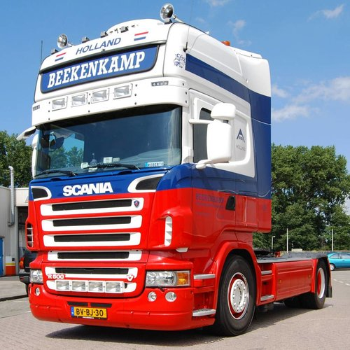 Scania R-series sun visor type 1C