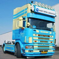 Scania 4-series  sun visor type 3A
