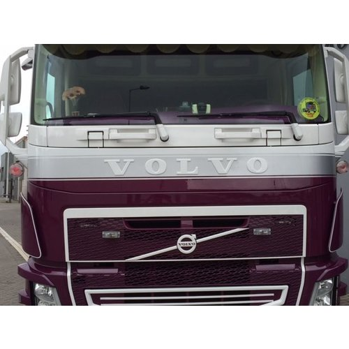 Front plate type 2 Volvo FH4