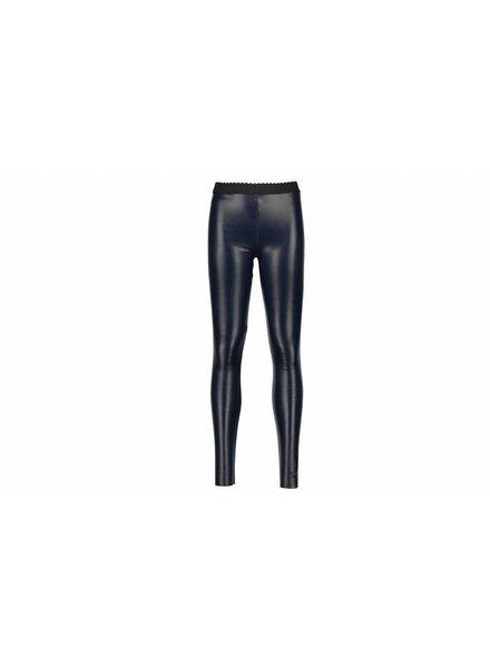 Like Flo Leather Legging - navy