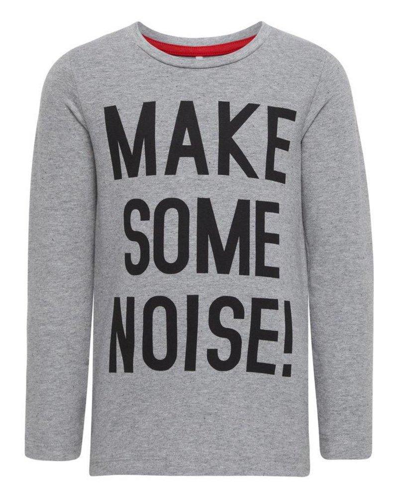 Name It NitGestemt Shirt - grijs