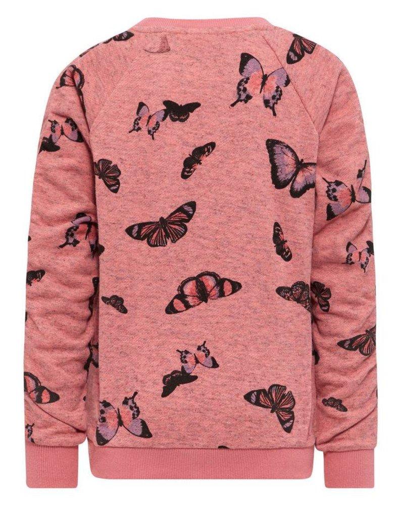 Name It NKFKutter vlindertrui (coral)