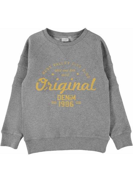 Name It NKM Jasper Sweater - Grey Melange