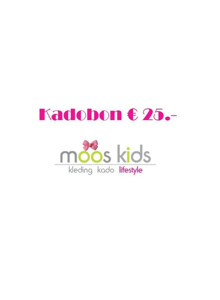 Kadobon (cadeaubon) 25.-