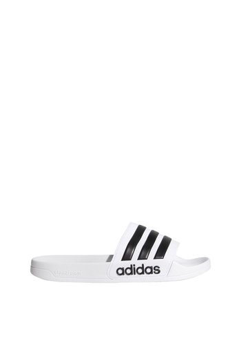 Adidas Adilette Shower Badslippers Wit Heren