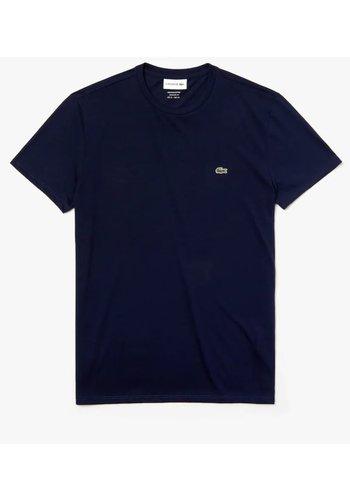 Lacoste T-shirt Donkerblauw Heren