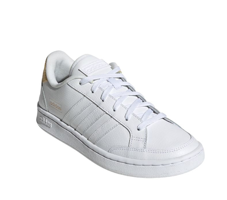 Adidas Grand Court Wit Dames-1