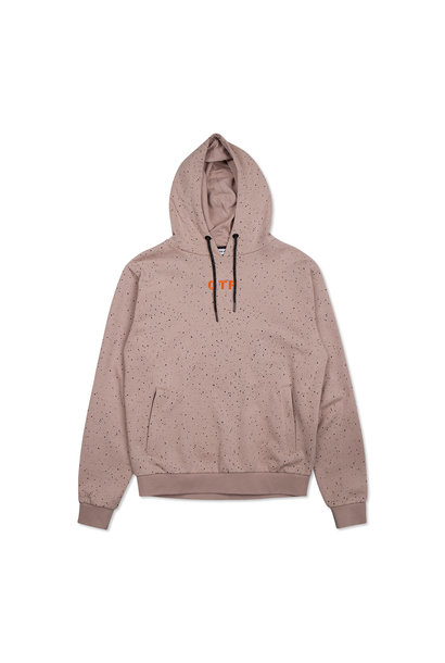 Off The Pitch Hoodie The Cosmic Taupe Heren