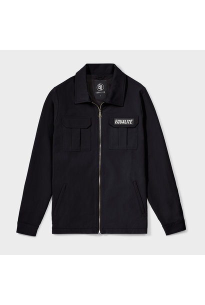 Equalité Cargo Jacket Zwart Heren