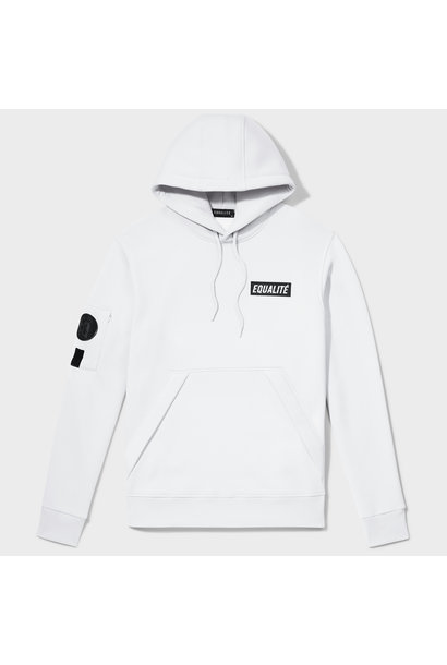 Equalité Remy Hoodie Wit