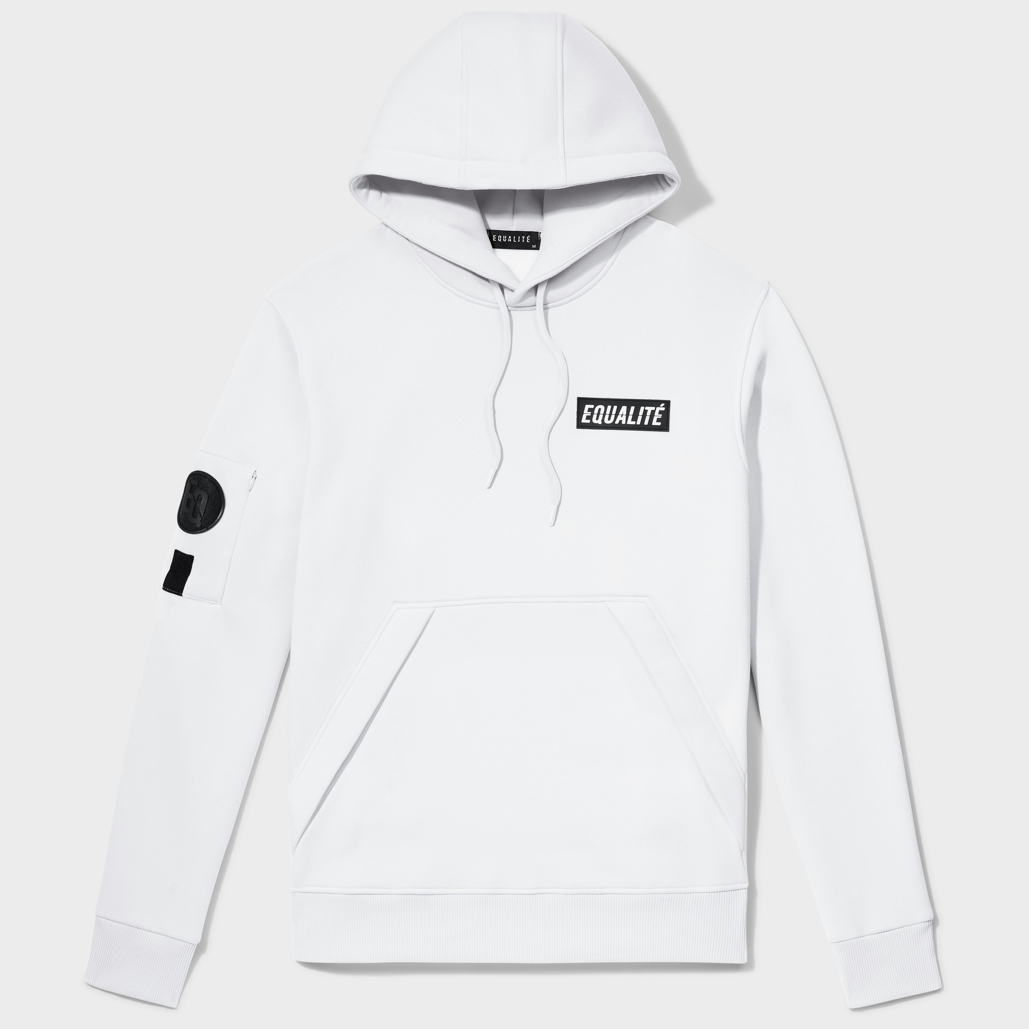 Equalité Remy Hoodie Wit-1
