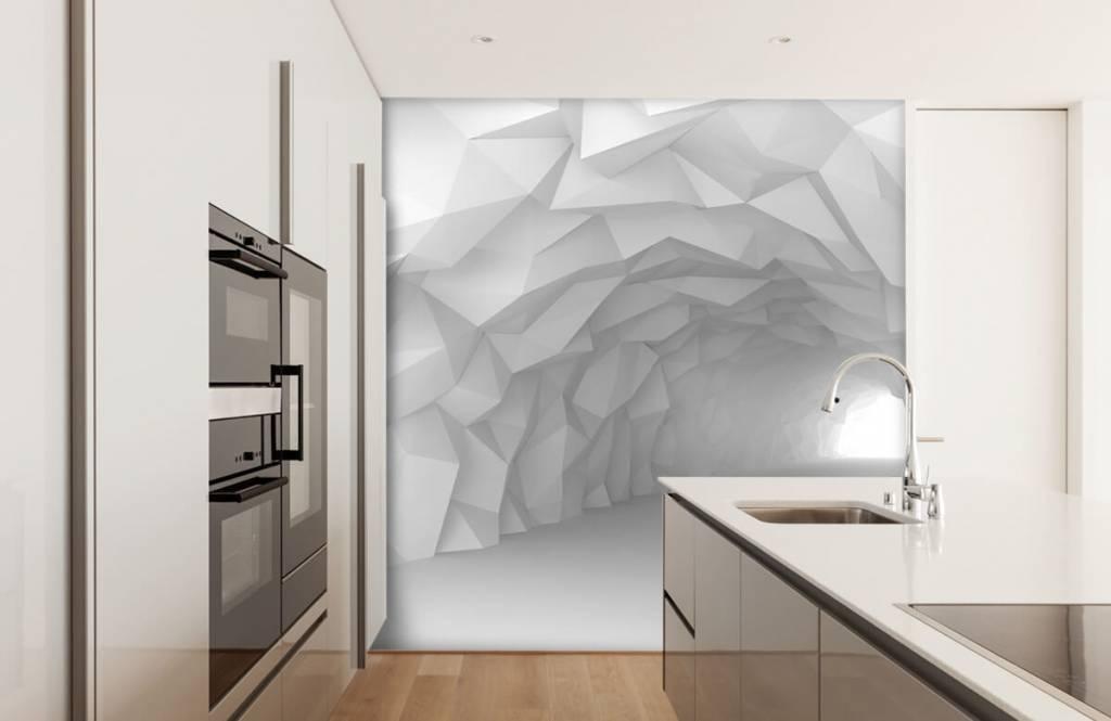 3D tunnel met punten