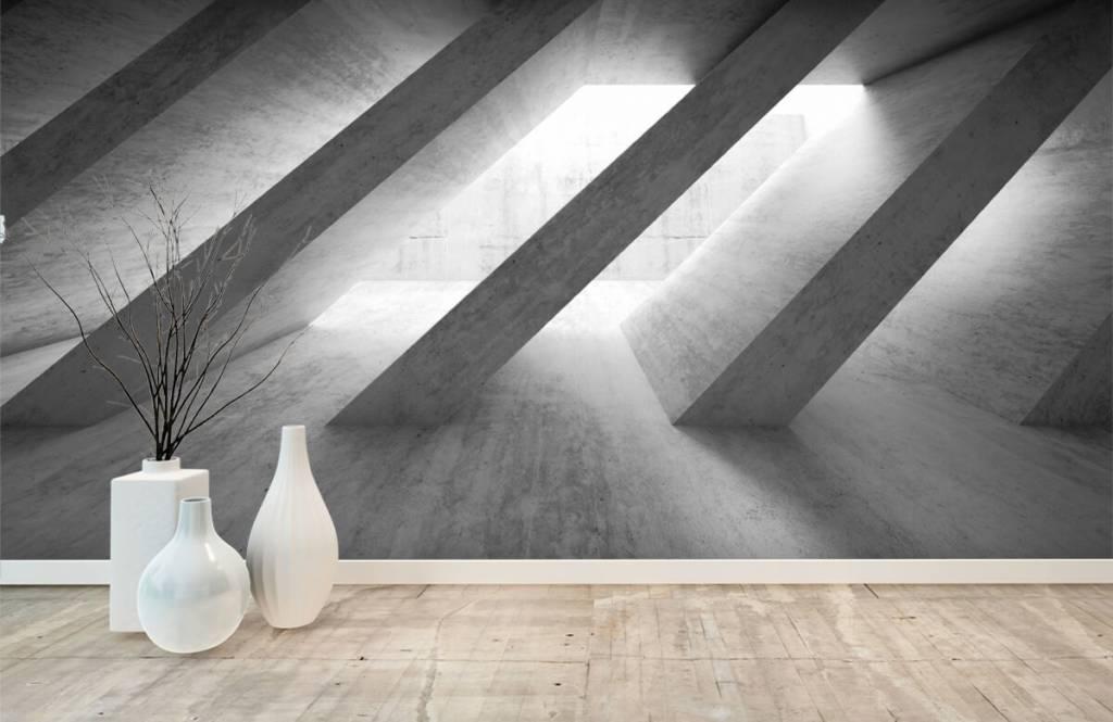 3D betonnen pilaren