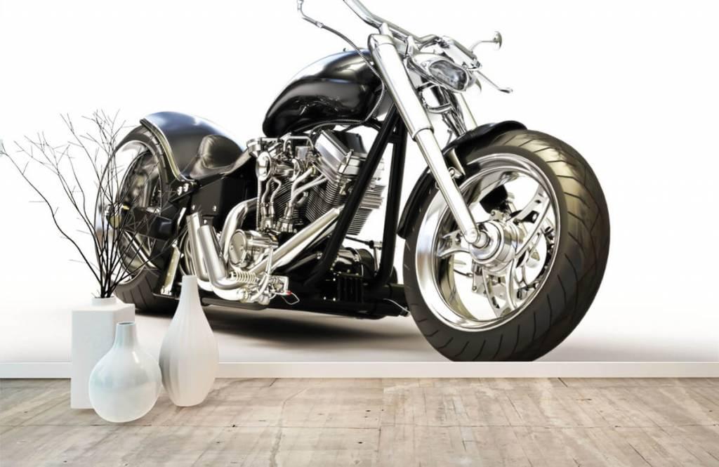 Zwarte motor