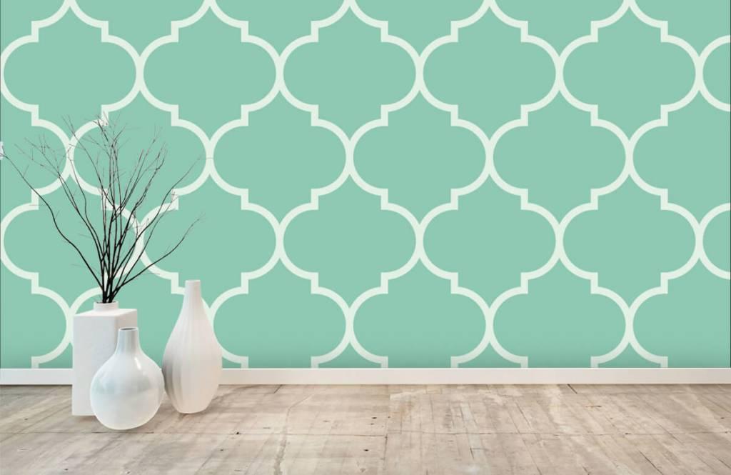 Tegels Met Patroon : Te gek maak een statement met herringbone patroon in de badkamer