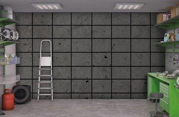 Grote Zwarte Tegels : Tegel behang online bestellen en kopen fotobehang