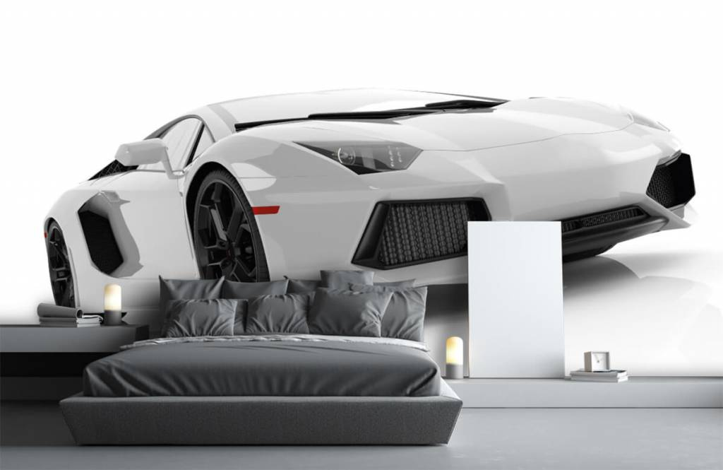 Witte supercar