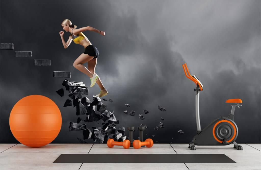 Sportieve vrouw