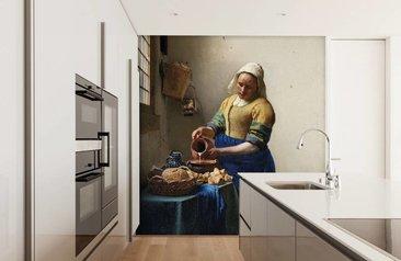 Groot Schilderij Woonkamer : Fotobehang met kunst en schilderijen kunstbehang fotobehang
