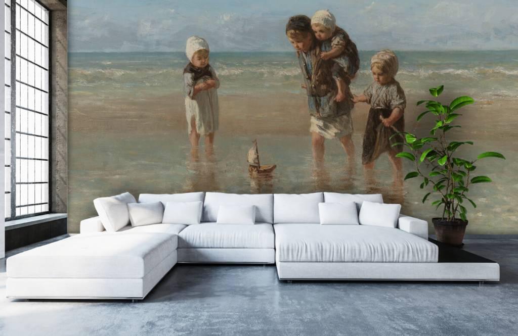 Kinderen der zee fotobehang fotobehang