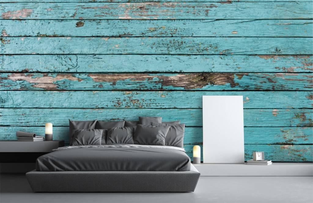 Behang Prints Opvallend : Fotobehang hout 10x behang inspiratie houtlook: van steigerhout