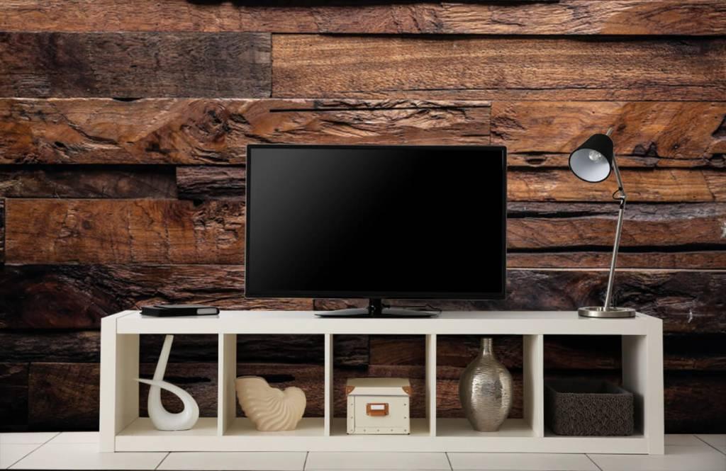 Steigerhout Behang Slaapkamer : Fotobehang hout 10x behang inspiratie houtlook: van steigerhout