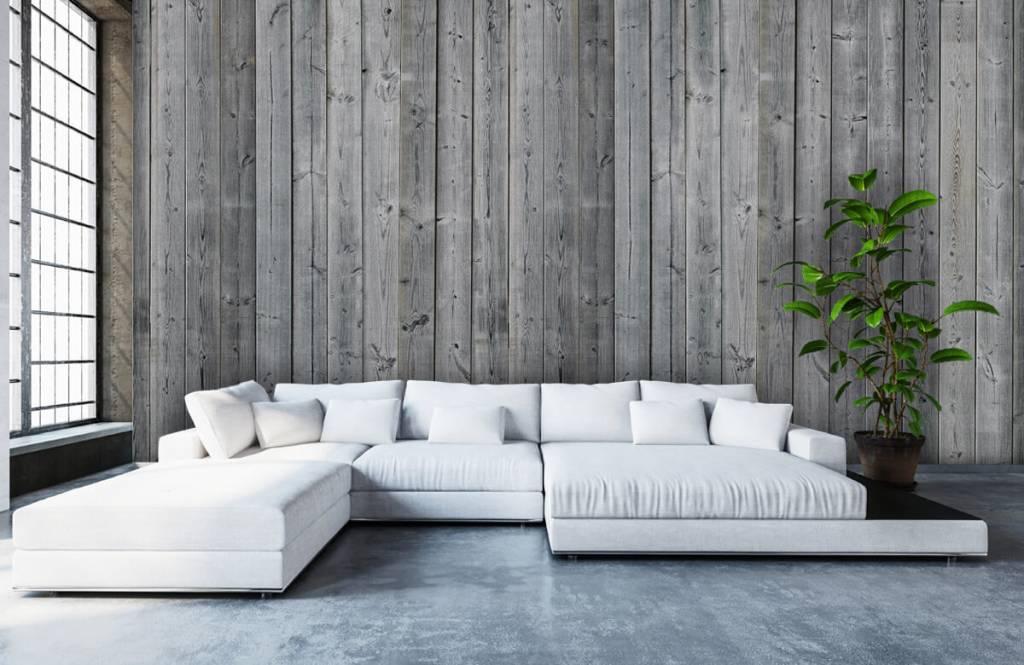 Slaapkamer Hout Behang : Fotobehang hout behang inspiratie houtlook van steigerhout