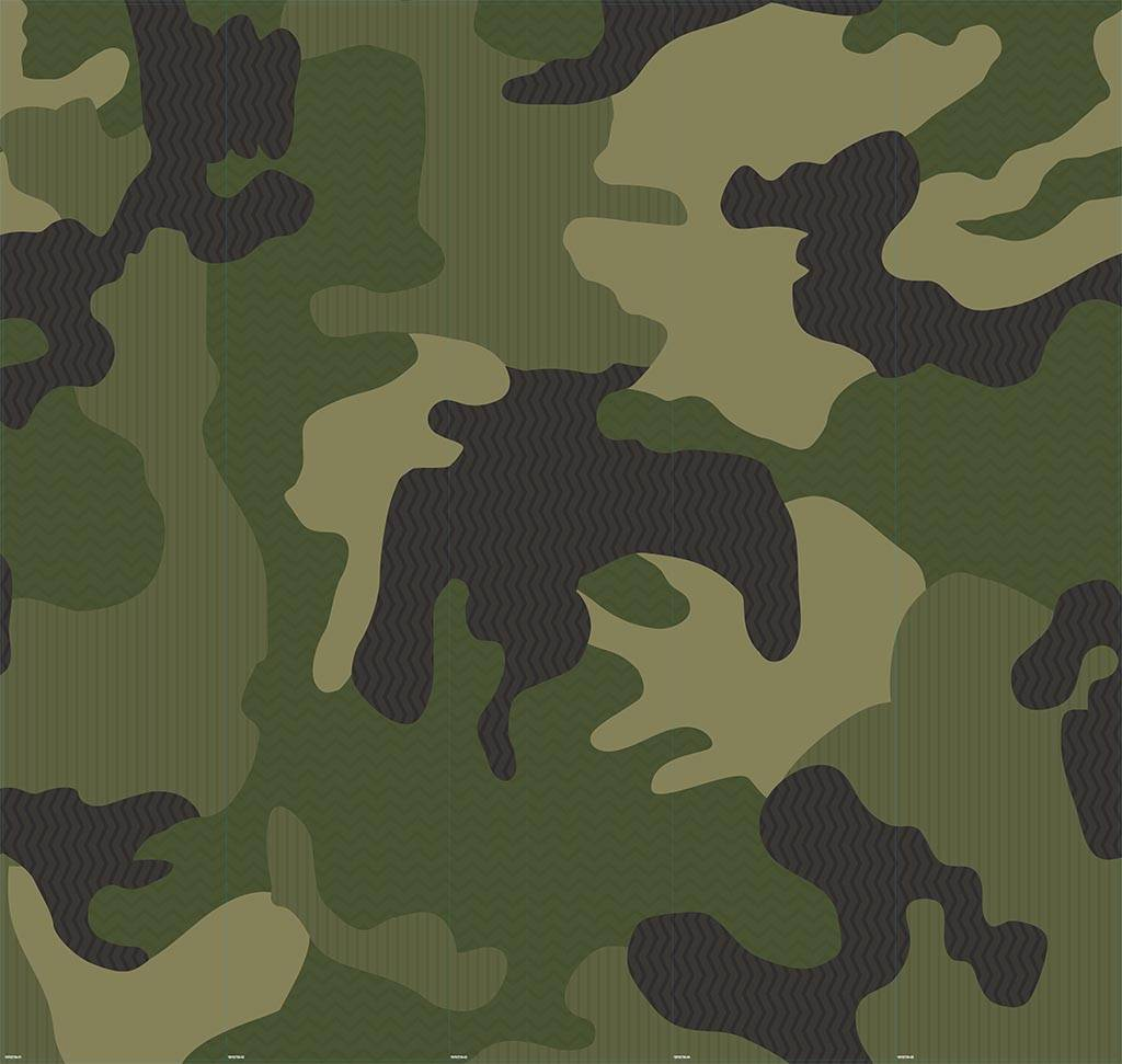 Camouflage groen - Outlet - 340x245 cm