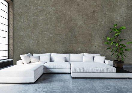 Betonwand groen-grijs