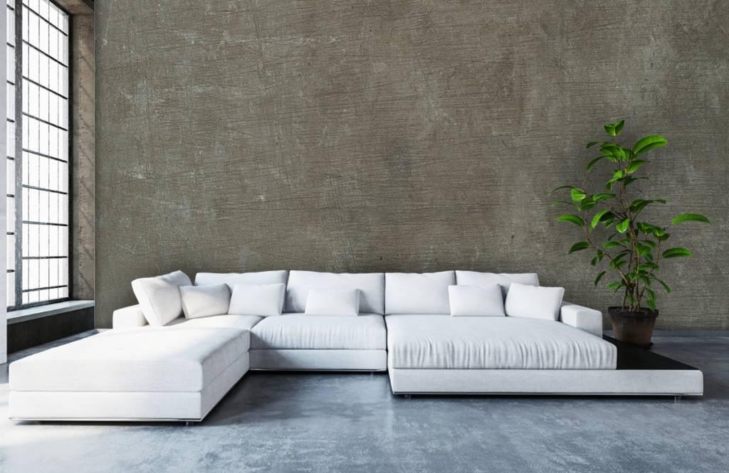Wall Exclusive Betonwand groen-grijs
