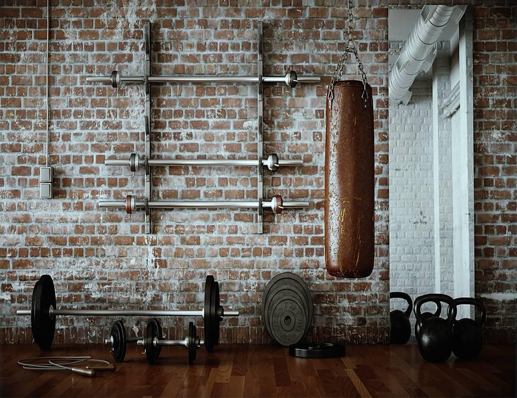 Vintage gym - Outlet - 364x199 cm