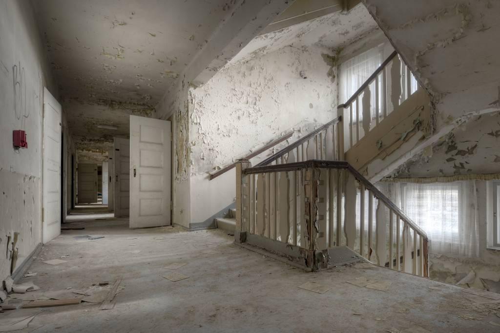 Trappenhuis fotobehang