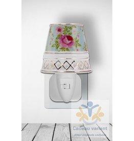 New Dutch Stekkerlamp strepen en rozen