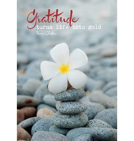 Zintenz Gratitude turns life into gold briefkaart
