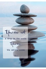 Zintenz You are not a drop in the ocean you are the entire ocean briefkaart