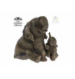 Leonardo collectie Olifant met jong beeld