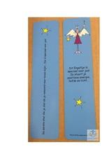 Boekenlegger engel