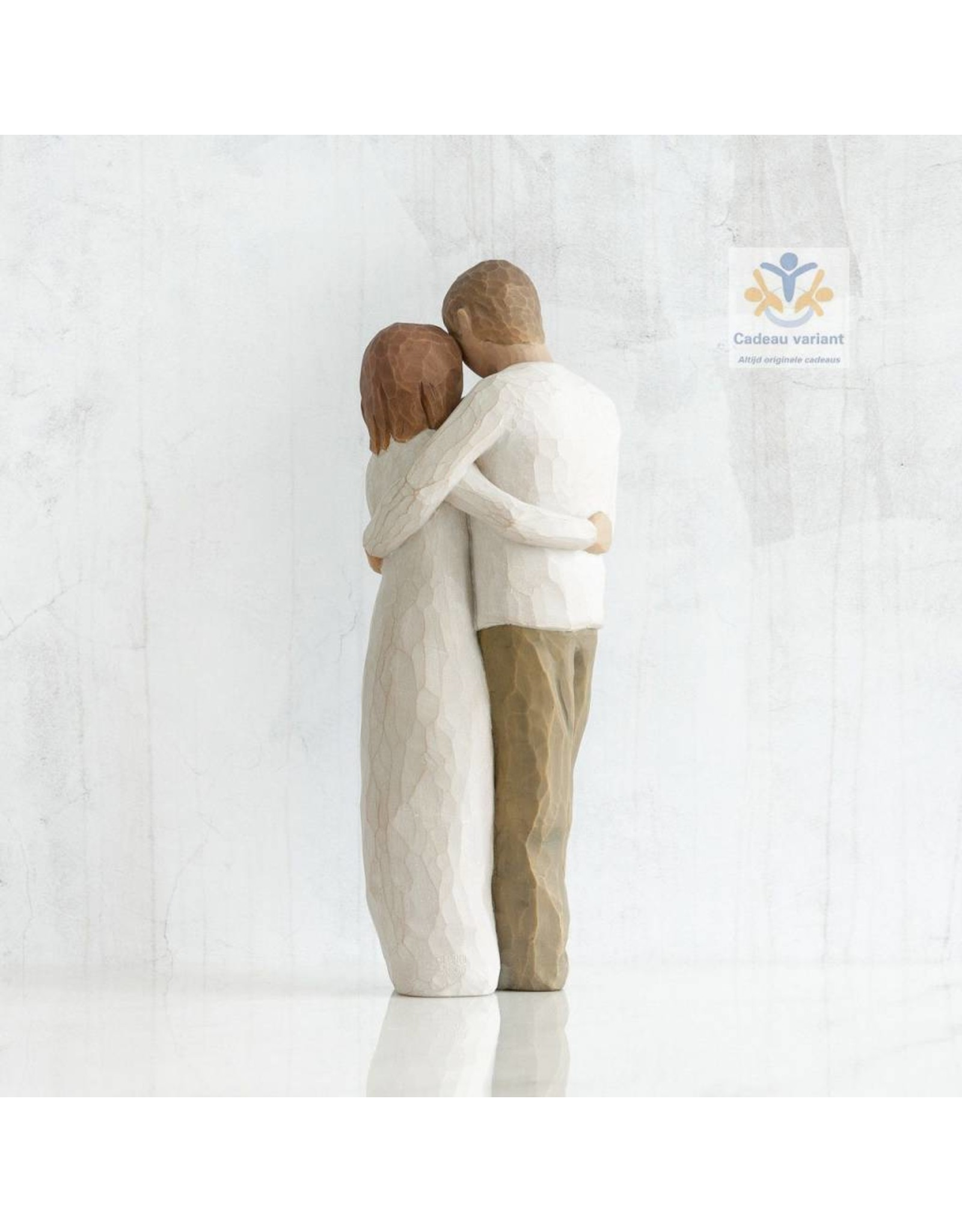 Willow Tree Beeld man omarmt vrouw -Together-