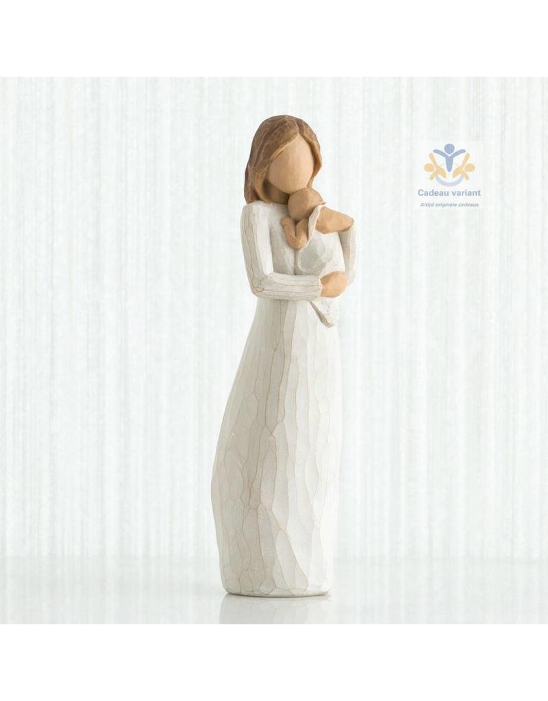 Willow Tree Beeld moeder en baby - angel of mine -
