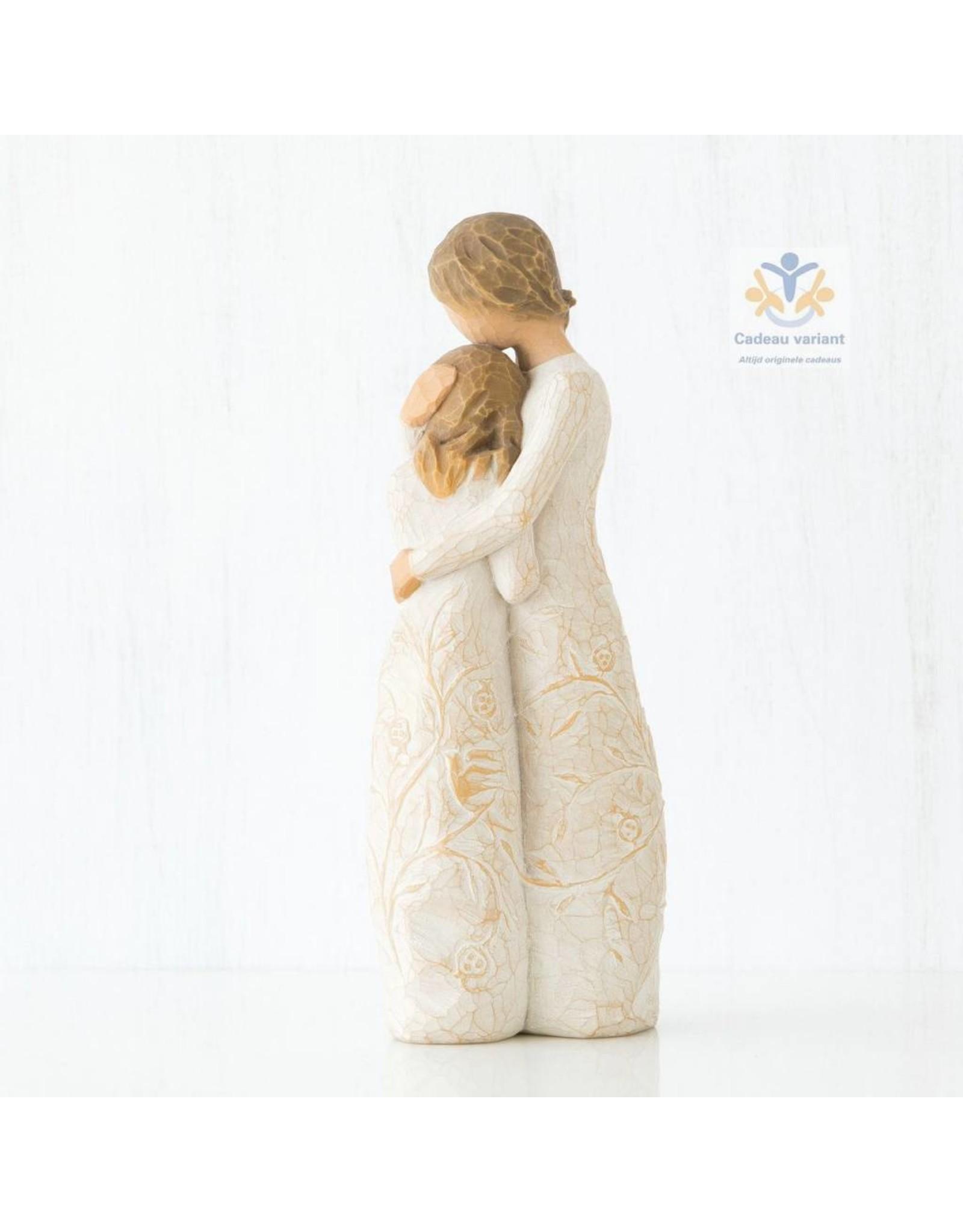 Willow Tree Beeld moeder omarmt dochter - close to me -