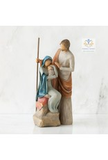 Willow Tree Beeld Jozef Maria en Jezus -The Holy Family -
