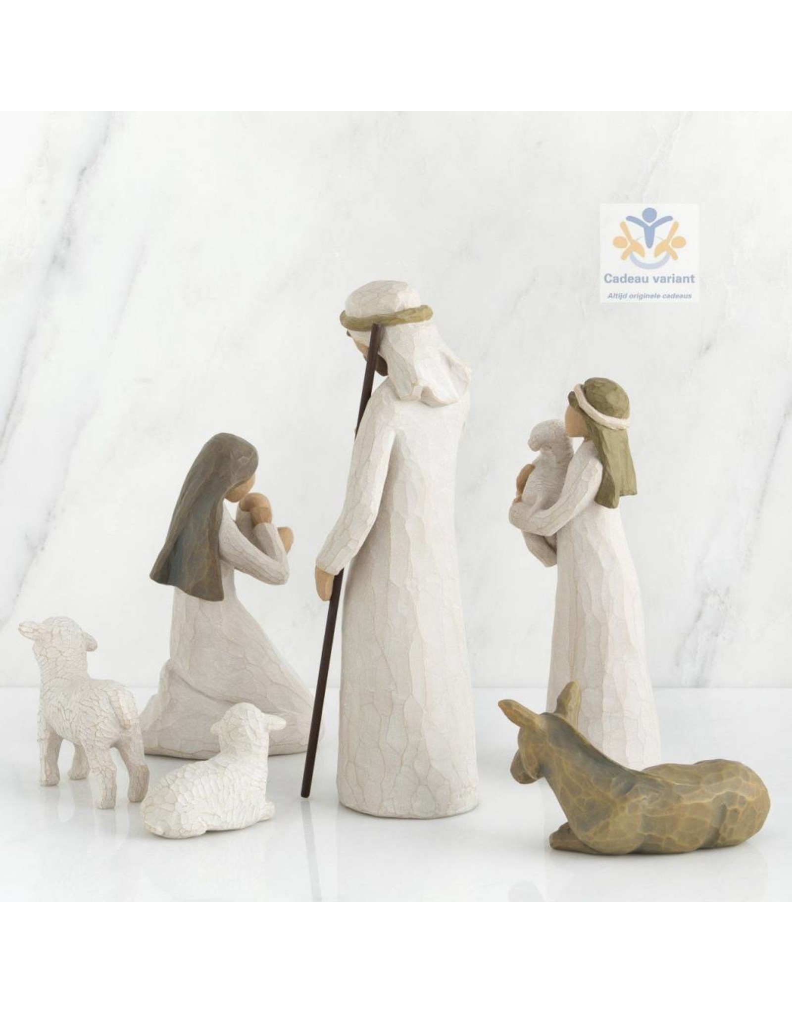 Willow Tree Kerststal 6 delig -Nativity-