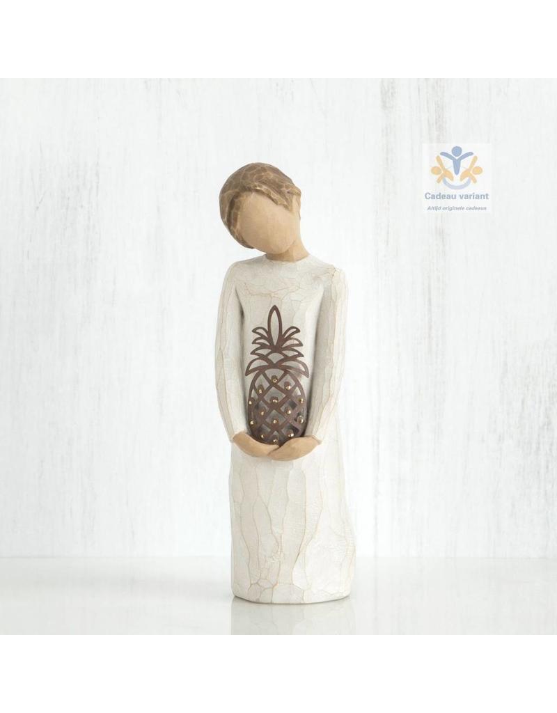 Willow Tree Beeld Gastvrij `Gracious`